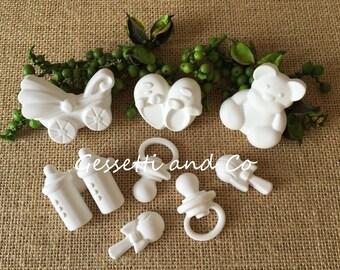 fragrant Chalks 24 BIRTH to wedding favor, baby shower, baptism, birth, placeholders