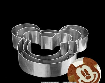 Hot Sale 6in, 8in,10in,Mickey Mouse Stainless Steel Circle Mousse Ring Baking cake Tool Layer Cake Mould Bakeware Mold cake decorating tools