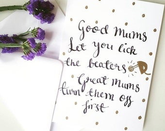 Mothers Day Greetings Card