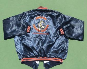 Chicago Boxing Satin Bomber