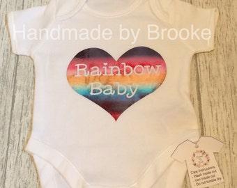 Rainbow Baby Vest / Bodysuit