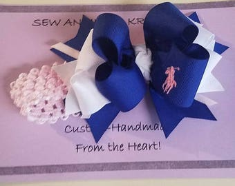 Hairbow, Polo Hairbow, Headband