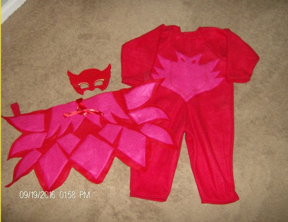 Fleece Owlette Costume