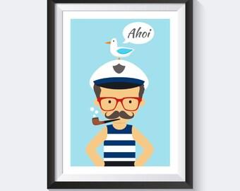 Nursery pictures nursery, baby room, kids pictures, nautical posters, nursery prints, nautical print posters, kids decor