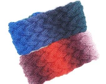 Knit Headband - Knitted Headband - Ear Warmer - Knit Head Band - Head Wrap - Head Wrap for Woman - Headband, Headpiece - Headband Women