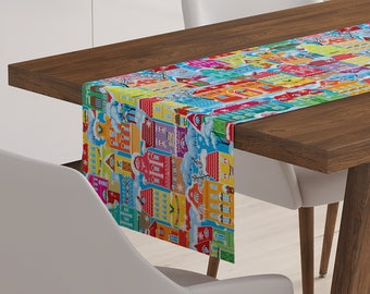 Holiday Table Runner   Holiday Décor   Holiday Table Topper   Holiday Table Linen   Holiday Linen   Holiday Table Décor   Holiday Runner
