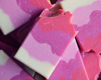 Heavenly Hibiscus handcrafted Vegan Soap