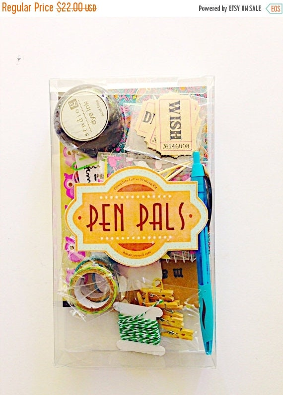 on sale pen pals letter writing kit snail mail kit snailmail kit