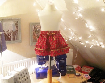 Girls Christmas Skirt (3m - 2Y)