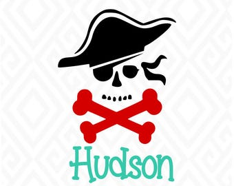 Pirate SVG, DXF, EPS, Png, Ai and Pdf Cutting Files for Electronic Cutting Machines