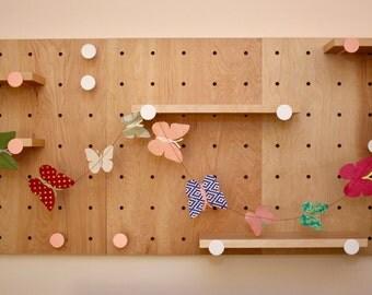 Baby Nursery Garlands, Butterfly Garland, Butterfly Paper Banner,Nursery Wall Decor,Playroom Garland,Party Garland,Home Garland,Petite Folio