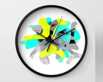 Modern wall clock Etsy