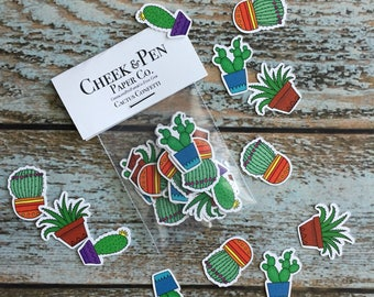 Cactus Confetti // Plant Lover // Party // Southwestern