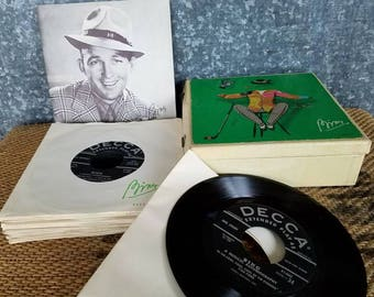 Bing Crosby Musical Autobiography Boxed Record Set, Decca Records, 1954
