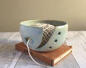 Sea Foam Yarn Bowl - Ready to Ship