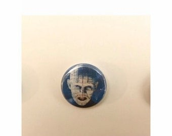 "1"" Hellraiser pin back button"