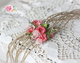 Tieback wild roses