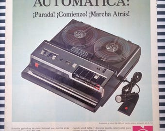 National Tape Recorder Ad 1967