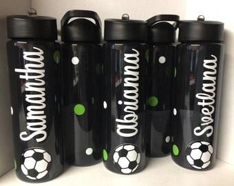 Soccer Water Bottle