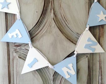 name bunting wooden name bunting nursery bunting nursery decor kids name sign baby shower gift personalized bunting name banner baby gift