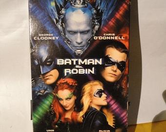 VHS - Batman and Robin
