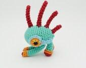 Chibi Murloc Amigurumi - World of Warcraft / HearthStone / Blizzard Crochet Plush