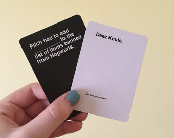 Cards Against Wizardry (FULL SIZE)