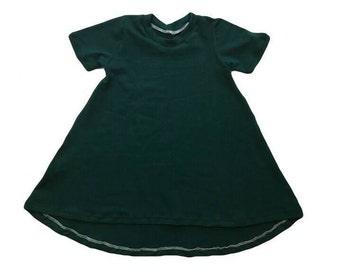 Emerald Long Sleeve Dress Tunic Dress Baby Girl Dress Baby Dress Girl Dress Toddler Dress Baby Dress Long Sleeve Dress 