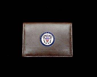 US Navy Business Card Case – Color