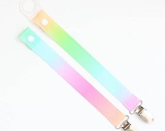 New! Pastel Ombre Dummy Clip