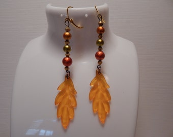 Fall Earrings, Fashion Earrings Dangle Earrings