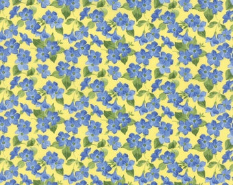 Moda Summer Breeze III Quilt Fabric 1/2 Yard By Sentimental Studios Yellow 32945 13