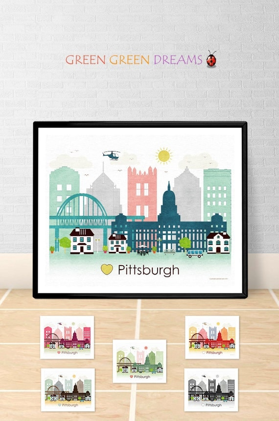 home decor stores in robinson pa pittsburgh poster print wall pennsylvania pittsburgh 13355