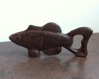 Cast iron fish etsy for Cast iron fish