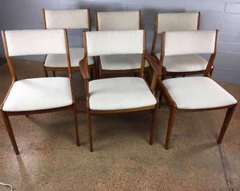 Dyrlund Dining Chair Set in Teak