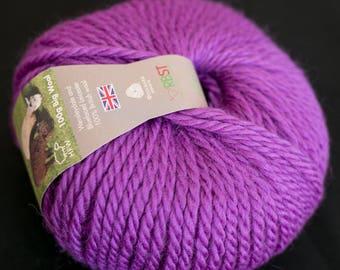 Wensleydale & Bluefaced Leicester Wool