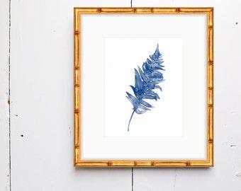 Fern 2 Watercolor Print - SMc. Originals, watercolor, rustic, modern, original artwork, botanical, watercolor print, nature, simple, decor