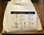 Plaster of Paris / 3 Pound Bag / Kids Crafts / Ready To Ship