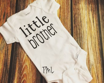Little Brother/ Little Sister Onesie