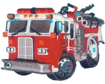 "Fire Truck Patch 4"" x 3"" by C&D Visionary P-4171"