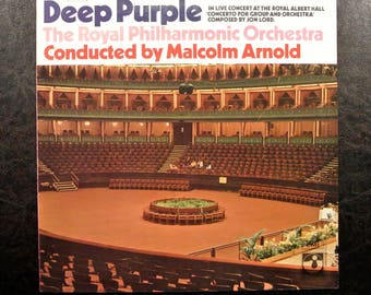 Deep Purple - Live Concert At The Royal Albert Hall 1969 Vintage Music Vinyl *Sehr Guter Zustand/very good condition*