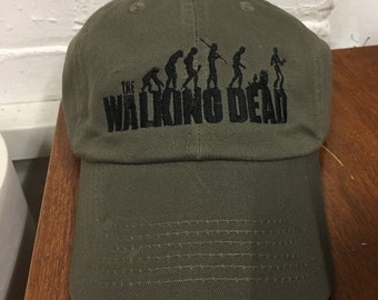 The Walking Dead Embroidered dads style hat
