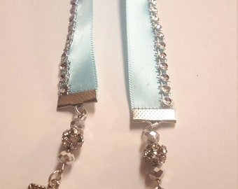 Baby Blue Bookmark