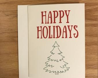 Christmas card, Holiday card