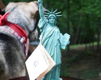 Lady Liberty Statue, Limited Edition, Made by Alva-Barrett Colea, Inc