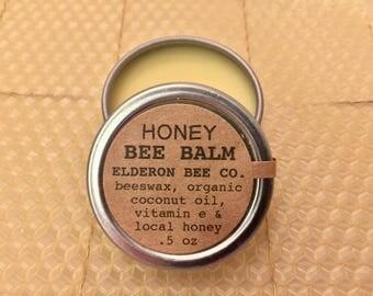 HONEY BEE BALM // 100% natural // multipurpose balm // beeswax balm