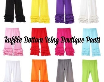 Ruffle Bottom Icing Pants