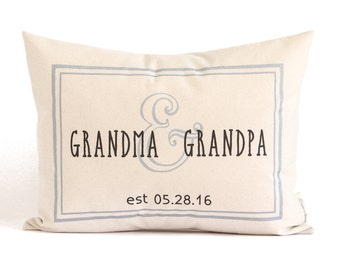 Gift for Grandparents, New Grandparents, Gift from Grandkids, Grandma and Grandpa gift