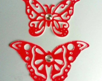 Ten Die Cut Butterflies