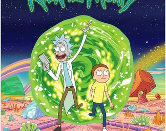 Rick And Morty Posters / Geek Gift